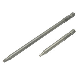 "3"" Length And 6"" Length #2 Square Driver Bits"