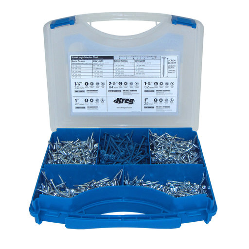 View a Larger Image of Assorted Pocket-Hole Screw Kit, # SK03