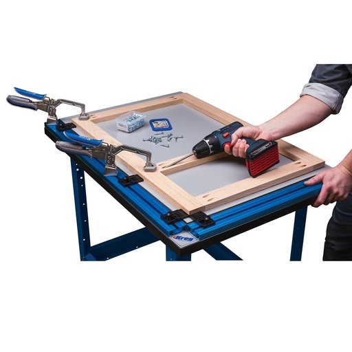 View a Larger Image of Automaxx Clamp Table Combo,  # KCT-COMBO