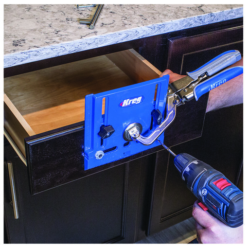 View a Larger Image of Cabinet Hardware Jig,  # KHI-PULL