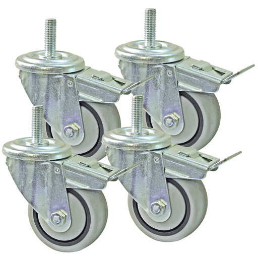 View a Larger Image of Casters Set for Universal Steel Stand