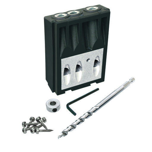 View a Larger Image of Micro Pocket Drill Guide Kit For Kreg Jig K3 K4 and K5