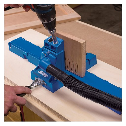 View a Larger Image of Pocket Hole Plug Cutter System, # KPCS
