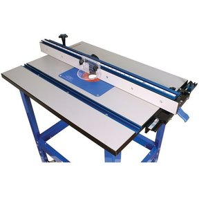 "Kreg Precision 24"" x 32"" Floor Model Router Table Complete"