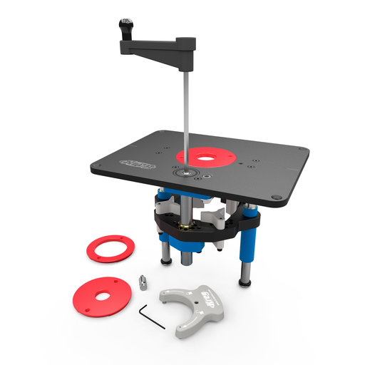 View a Larger Image of KREG Precision Router Lift PRS5000