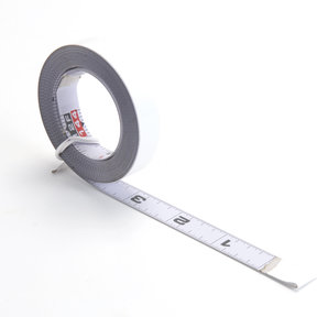 Self-Adhesive Measuring Tape (L-R Reading), 12'