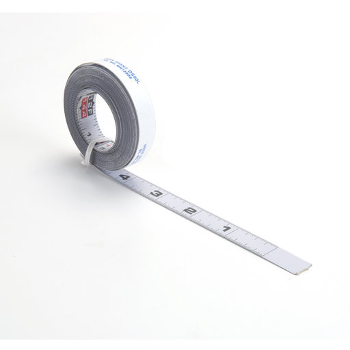View a Larger Image of Self-Adhesive Measuring Tape (R-L Reading), 12'