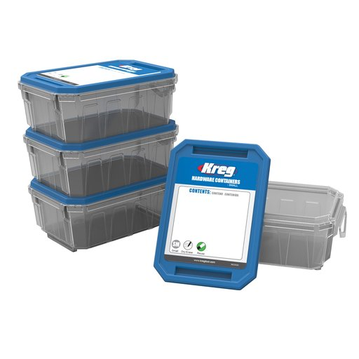 View a Larger Image of Small Hardware Container 4-Pack,  # KSS-S