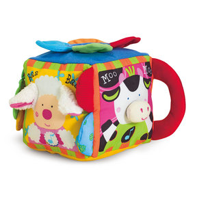 K's Kids Musical Farmyard Cube Educational Baby Toy