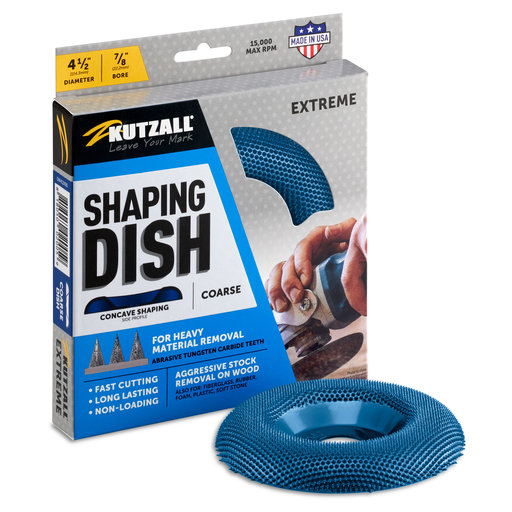 """View a Larger Image of Extreme Shaping Dish, 4-1/2"""" Diameter, Coarse"""