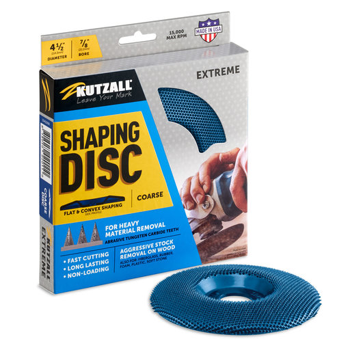"""View a Larger Image of Extreme Shaping Disc, 4-1/2"""" Diameter, Coarse"""