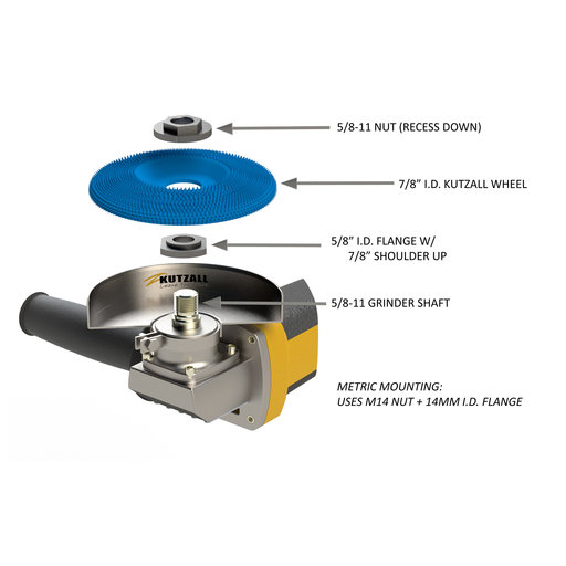 """View a Larger Image of Extreme Shaping Disc, 4-1/2"""" Diameter, Medium"""