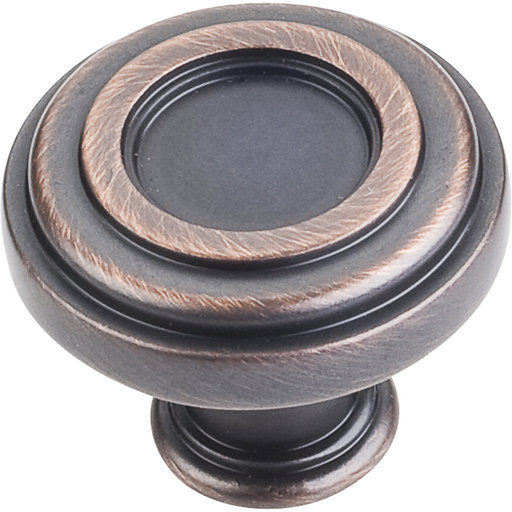 """View a Larger Image of Lafayette Knob, 1-3/8"""" Dia.,  Brushed Oil Rubbed Bronze"""