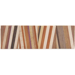 "Laminated 1-1/2"" x 1-1/2"" x 3"" Wood Turning Stock Blank 4pc"