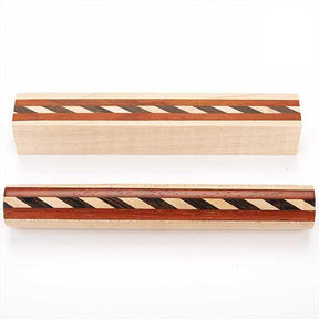 Laminated Wood Pen Blank  18