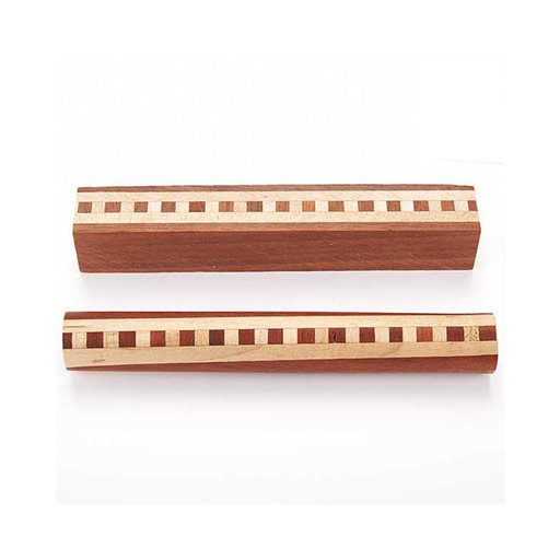 Laminated wood pen blank
