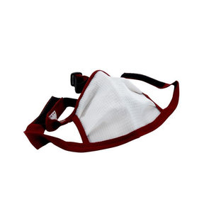 Large Dust Bee Gone Mask - Maroon Edging