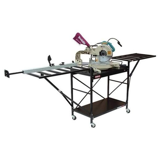 View a Larger Image of Large Shop Style Miter Saw Stand, Model 2875XL