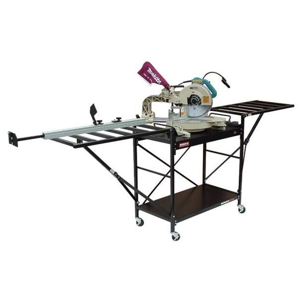 view a larger image of large shop style miter saw stand model 2875xl