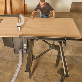 Large Sliding Table