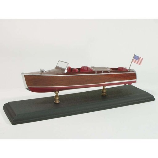 View a Larger Image of Laser Classic Boat Kit Chris-Craft 1930 Runabout