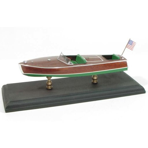 View a Larger Image of Laser Classic Boat Kit Chris-Craft 1949 Racing Runabout