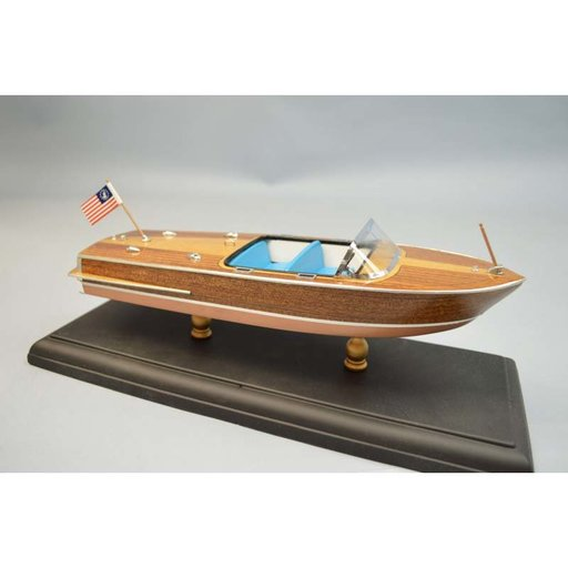 View a Larger Image of Laser Classic Boat Kit Chris-Craft 1956 Capri