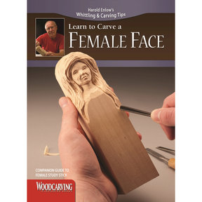 Learn to Carve a Female Face Booklet