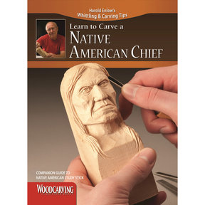 Learn to Carve a Native American Chief Booklet