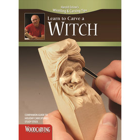 Learn to Carve a Witch Booklet