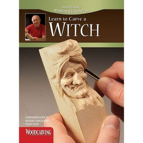 Learn to Carve Holiday Caricatures Study Stick Kit