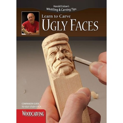 View a Larger Image of Learn to Carve Ugly Faces Study Stick Kit