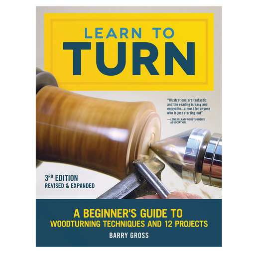 View a Larger Image of Learn to Turn, 3rd Edition Revised & Expanded