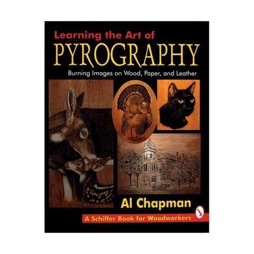 View a Larger Image of Learning The Art Of Pyrography