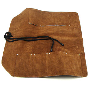 Leather Tool Roll, 7 Pocket