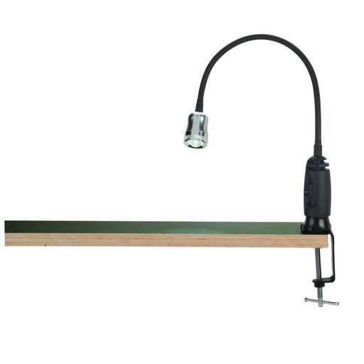 View a Larger Image of LED Shop Light with Magnetic Base and Clamp