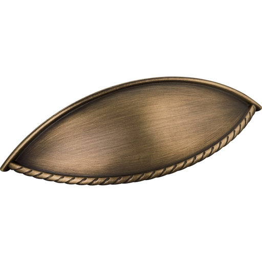 View a Larger Image of Lenoir Pull, 96 mm C/C, Antique Brushed Satin Brass