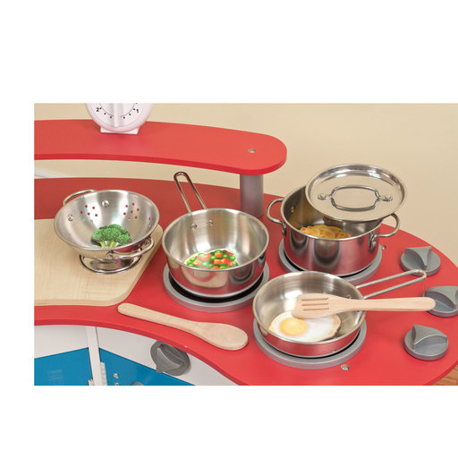 View a Larger Image of Let's Play House! Pots & Pans Set