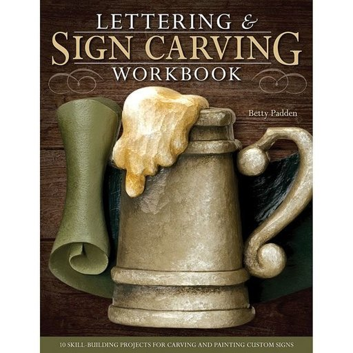 View a Larger Image of Lettering & Sign Carving Workbook