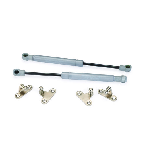 View a Larger Image of Lift-O-Mat Gas Springs from STABILUS 150 Silver, Pair