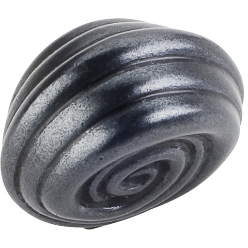 "View a Larger Image of Lille Small Knob, 1-1/4"" O.L.,  Gun Metal"