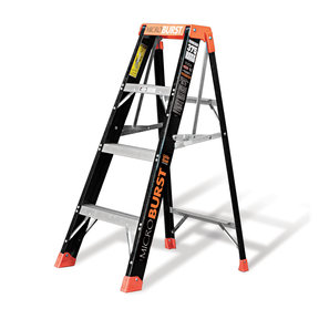 Little Giant MicroBurst Fiberglass Ladder 4'