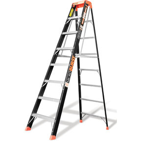 Little Giant MicroBurst Fiberglass Ladder 8'