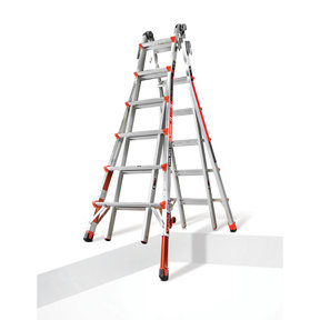 Revolution Ladder 26' with Built-In Ratchet Leveler Option