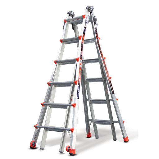 View a Larger Image of Little Giant Revolution Ladder 26' Without Ratchet Leveler Option