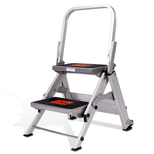 View a Larger Image of Little Giant Safety Step Ladder - 2 Step