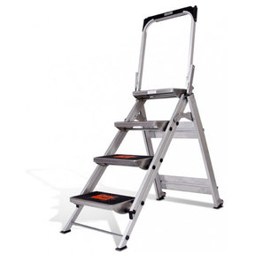 Little Giant Safety Step Ladder - 4 Step