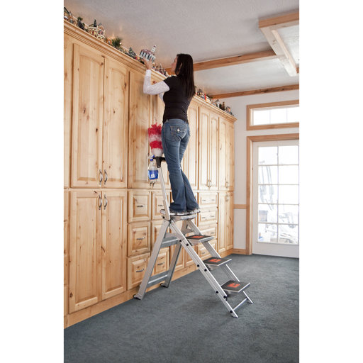 View a Larger Image of Little Giant Safety Step Ladder - 4 Step