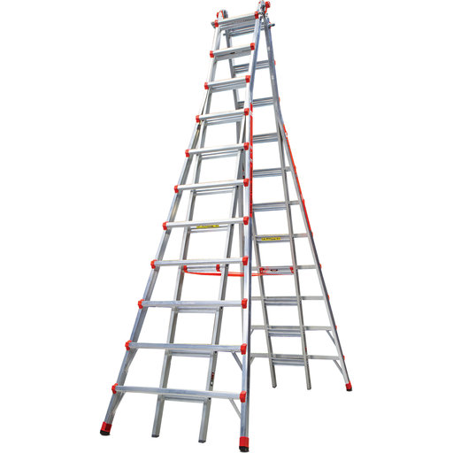 View a Larger Image of Little Giant Skyscraper 21' Aluminum Ladder