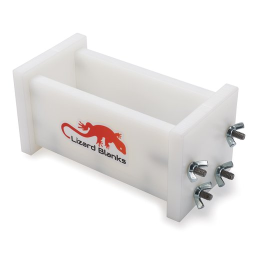 """View a Larger Image of Lizard Blank 2"""" x 2"""" x 6"""" GEN 2 Knife Block Resin Casting Mold"""